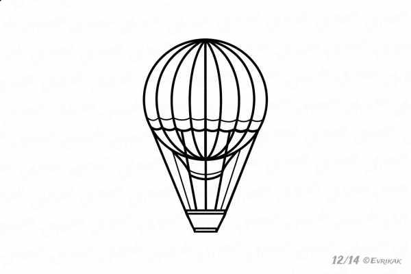 Как нарисовать шарики воздушные. Учимся рисовать воздушный ...