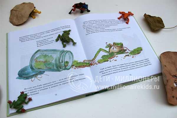 краткий пересказ лягушка путешественница для читательского дневника